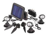 Svítidlo LED - solární bodové Trio