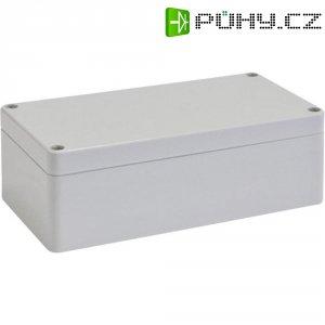 Skříň Euromas Bopla, (d x š x v) 200 x 120 x 75 mm, šedá (T 221)