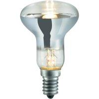 Halogenová žárovka Sygonix, E14, 18 W, 85 mm, stmívatelná, teplá bílá