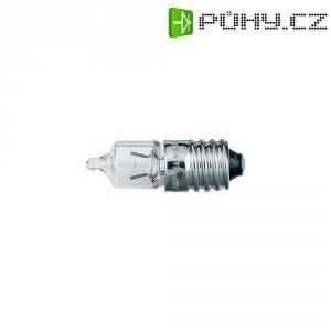 Miniaturní halogenová žárovka Barthelme, E10, 6,5 V, 4,55 W, 0,7 A, čirá
