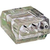 Svorka Wago, 273-253, 1 - 2,5 mm², 3pólová, transparentní