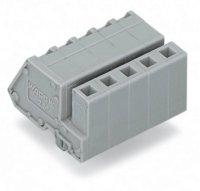 Zásuvkový konektor na kabel WAGO 731-510/008-000, 51.50 mm, pólů 10, rozteč 5 mm, 50 ks