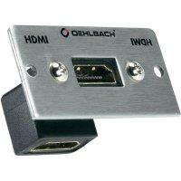 Adaptér Oehlbach Pro IN HDMI ® s úhlovou spojkou