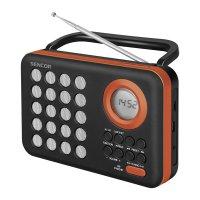 Radiopřijímač SENCOR SRD 220 BOR s USB/MP3