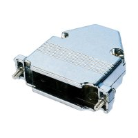 D-SUB kryt Assmann AGP 09 G-METALL, 9 pin, kov