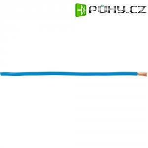 Zemnící kabel AIV, 1 x 6 mm², červený