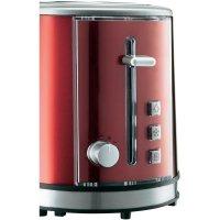 Topinkovač Grundig TA 6330, 850 W, červená metalická