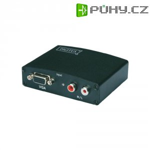 Multimediální převodník VGA/cinch audio ⇒ HDMI