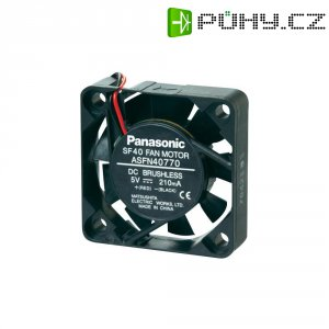DC ventilátor Panasonic ASFN42770, 40 x 40 x 10 mm, 5 V/DC