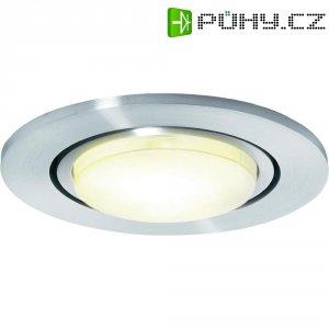 Vestavné světlo sygonix Como, 9 W, kruhové, šedá
