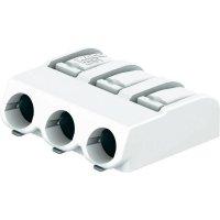 SMD svorkovnice Wago 2061-603/998-404, 3 póly, RM 6 mm, bílá