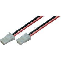 Napájecí kabel Modelcraft, AMP zásuvka, 2,5 mm², 1 pár