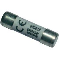 Jemná pojistka ESKA pomalá 1038327, 500 V, 10 A, keramická trubice, 10,3 mm x 38 mm
