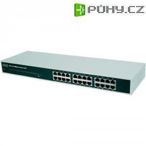 Síťový switch Digitus, DN-60021, 24x RJ45