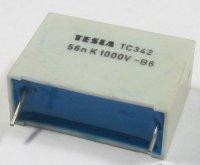 56n/1000V TC342, svitkový kondenzátor impulsní