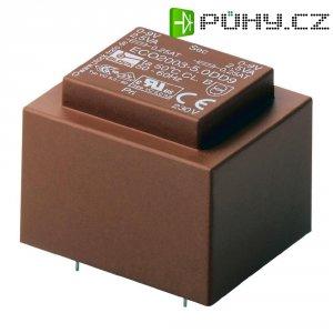 Transformátor do DPS Block Eco2003, 230 V/2x 12 V, 2x 208 mA, 5 VA