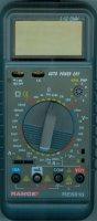 Multimetr RE6810 RANGE, vadný-neměří V, bez kabelů