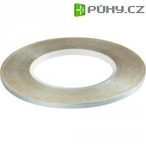 Samolepící páska SIG, 1,6 mm, stříbrná
