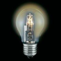 Halogenová žárovka Sygonix, E27, 28 W, 94 mm, stmívatelná, teplá bílá