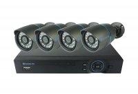 Kamera set SECURIA PRO A4CHV1 800 TVL 4CH DVR + 4x IR CAM analog