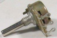 1k0/N hřídel 4x15mm, potenciometr otočný
