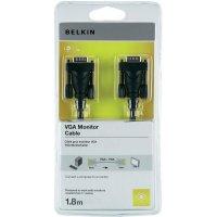 Připojovací kabel k monitoru Belkin VGA, 1,8 m, černý