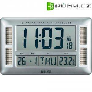 Digitální nástěnné DCF hodiny Eurochron Solar EFWU 330 S, C8273A