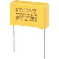 Foliový kondenzátor MKP, 0,47 µF, X2 275 V/AC, 10 %, 30 x 11 x 20 mm