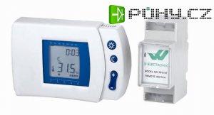 Prostorový termostat RF-510T programovatelný bezdrátový