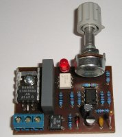 Jednoduchý regulátor teploty