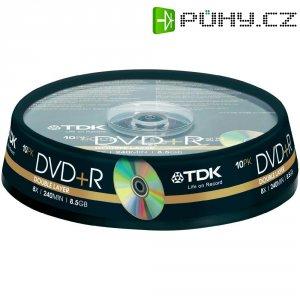 TDK DVD+R DL 8,5GB 8X 10 ks cake box