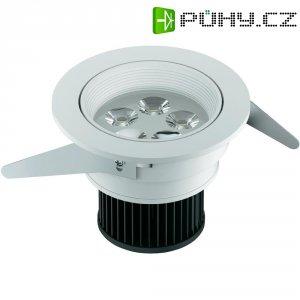 Vestavné světlo Osram IVIOS LED, 6,5 W, bílá/hliník