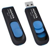 ADATA flashdisk USB UV128 32GB blue (USB 3.0)