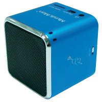 Mobilní mini sound stanice Technaxx MusicMan ®, modrá