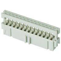 Pružinová lišta 2-215882-6 TE Connectivity AMP-Latch Mark II 2.54 mm Počet kontaktů: 26 Množství: 1 ks