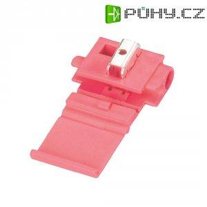 Zářezová svorka 3M, 80-0140-0080-8, 0,5 - 1,5 mm², 2pólová, červená