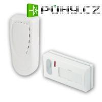 Bateriový bezdrátový zvonek BBZ5 (přijímač + tlačítko)