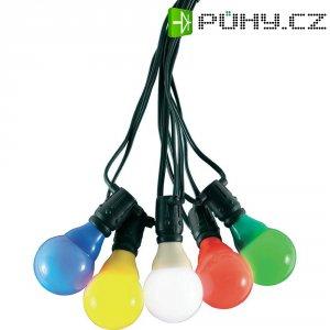 Venkovní párty osvětlení Konstsmide, 4428-500, 10 LED žárovek, barevná
