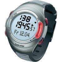 Sportovní hodinky s měřením pulzu Beurer PM 70, 675.30, červená/šedá