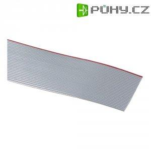 Plochý kabel 3M 7000057938, rozteč 1.27 mm, 14 x 0.08 mm², šedá, metrové zboží