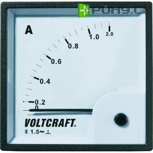 Analogové panelové měřidlo VOLTCRAFT AM-72X72/1A 1 A