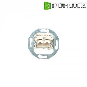 Telefonní zásuvka bez krytu Gira, 018700, UAE/IAE (ISDN), 2x 8pólová