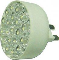 Žárovka LED G9 teplá bílá 230VAC DOPRODEJ