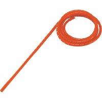 Spirálová hadice, WB-0506, zabalená, Ø: 4 - 50 mm, 5 m, červená