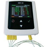 Teplotní datalogger ebro EBI 40 TC-02, 0 °C až 500 °C