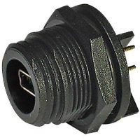 Konektor Mini USB 2.0 ESKA Bulgin PX0456, IP68, zásuvka vestavná