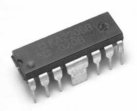 KA2206B nf zesilovač 2x2,3W DIP12 /LA4182/