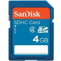 Paměťová karta SDHC SanDisk 4 GB Class 2