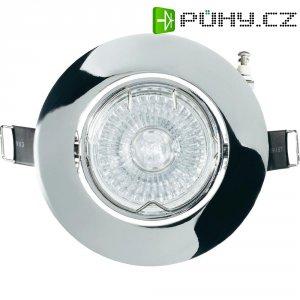 Vestavné svítidlo standard Basetech CT-3107, GU10, 35 W, chrom/kov