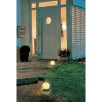 Solární LED svítidlo ve tvaru koule
